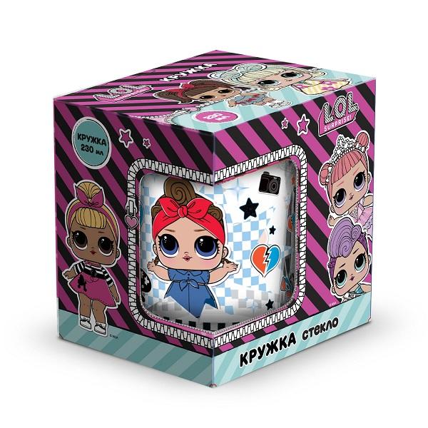 """L.O.L. Surprise! 288528 """"Dollsaregogo"""" Кружка в подарочной упаковке, 230 мл"""