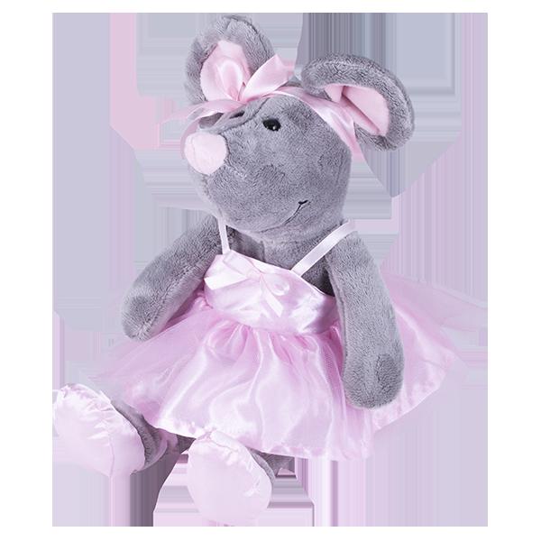 SOFTOY S885/15 Мягкая игрушка Мышка, 26см softoy ut 1301 игрушка мягкая бык 45 см