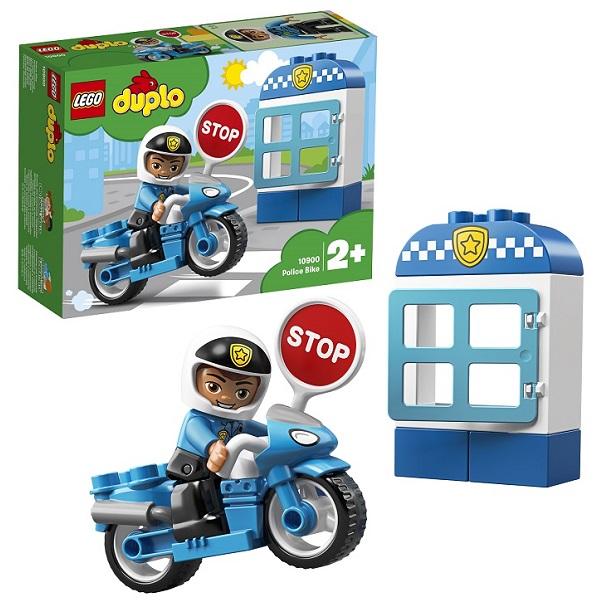 LEGO DUPLO 10900 Конструктор ЛЕГО ДУПЛО Полицейский мотоцикл цены