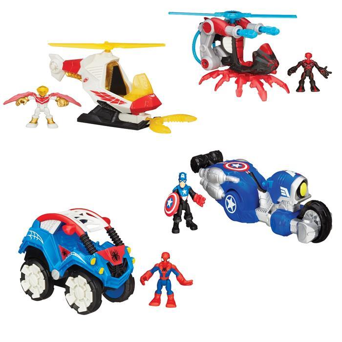 Hasbro Playskool Heroes B0230 Марвел фигурка и транспортное средство (в ассортименте) hasbro play doh игровой набор из 3 цветов цвета в ассортименте с 2 лет