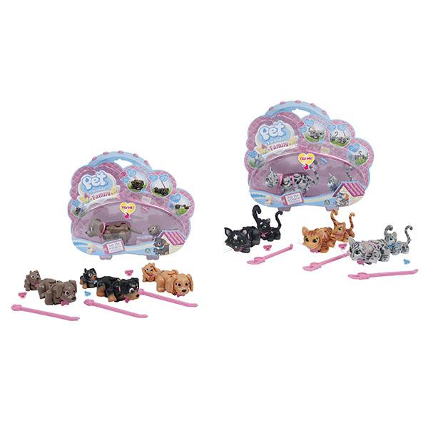 Pet Club Parade PTF00000 Пет Клаб Парад Интерактивные фигурки домашних питомцев (в ассортименте) pet club parade игрушка фигурки собачек колли и мопс