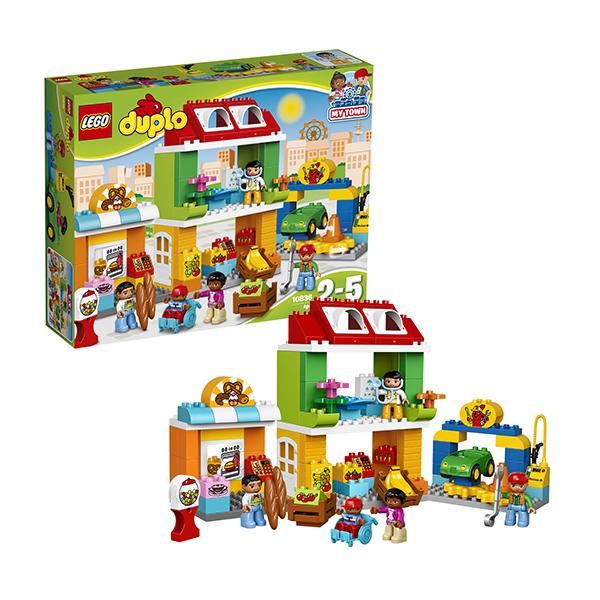 Lego Duplo 10836 Конструктор Лего Дупло Городская площадь lego lego конструктор duplo ветеринарная клиника доктора плюшевой