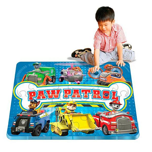 Paw Patrol 6028788 Щенячий патруль Коврик-пазл spin master коврик пазл щенячий патруль 30 деталей