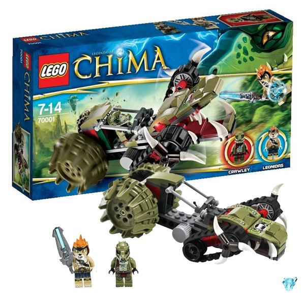 Лего Чима 70001 Конструктор Потрошитель Кроули