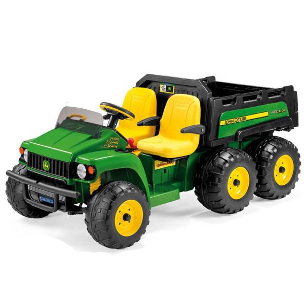 Детский электромобиль Peg-Perego OD0531 JD GATOR HPX 6*4 LITHIUM вкладыши и чехлы для стульчика esspero сменный чехол для peg perego tatamia siesta sport leatherette