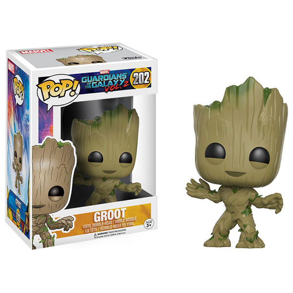 цена на Funko 13230F Фигурка Funko POP! Bobble: Guardians O/T Galaxy 2: Groot 13230