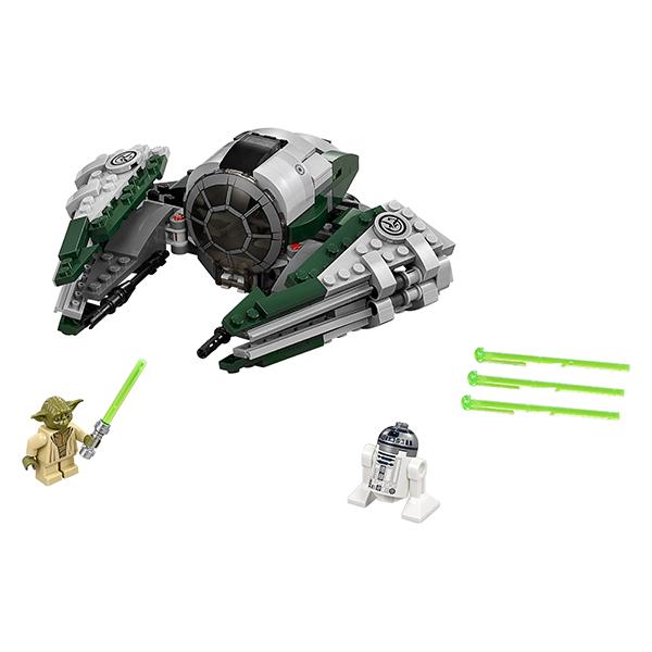 Lego Star Wars 75168 Конструктор Лего Звездные Войны Звёздный истребитель Йоды