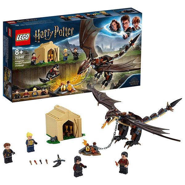 LEGO Harry Potter 75946 Конструктор ЛЕГО Гарри Поттер Турнир трёх волшебников: Венгерская хвосторога printio венгерская выжла