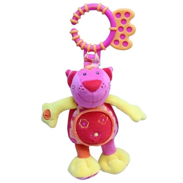Фото - ROXY-KIDS RBT10073 Игрушка развивающая Котенок Банси со звуком roxy kids rbt20014 игрушка развивающая слоненок сквикер пищалка внутри размер 18 см