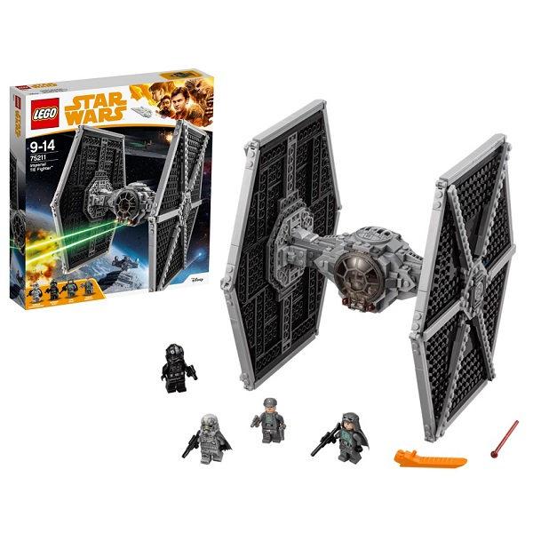 Lego Star Wars 75211 Конструктор Лего Звездные Имперский истребитель СИД lego lego star wars 75092 истребитель набу™ naboo starfighter™