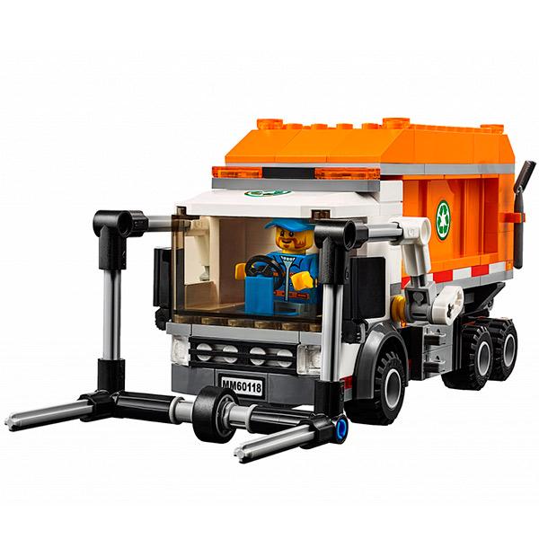LEGO City 60118 Конструктор ЛЕГО Город Мусоровоз
