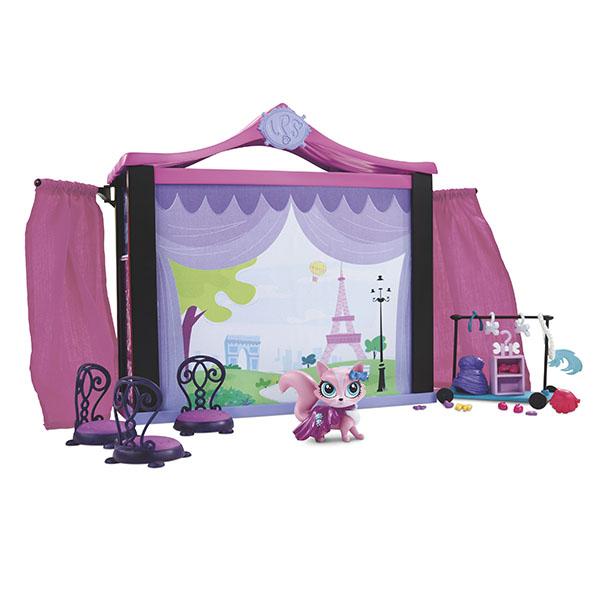 Hasbro Littlest Pet Shop A7942 Литлс Пет Шоп Набор Стильный подиум для показа мод hasbro стильный подиум для показа мод