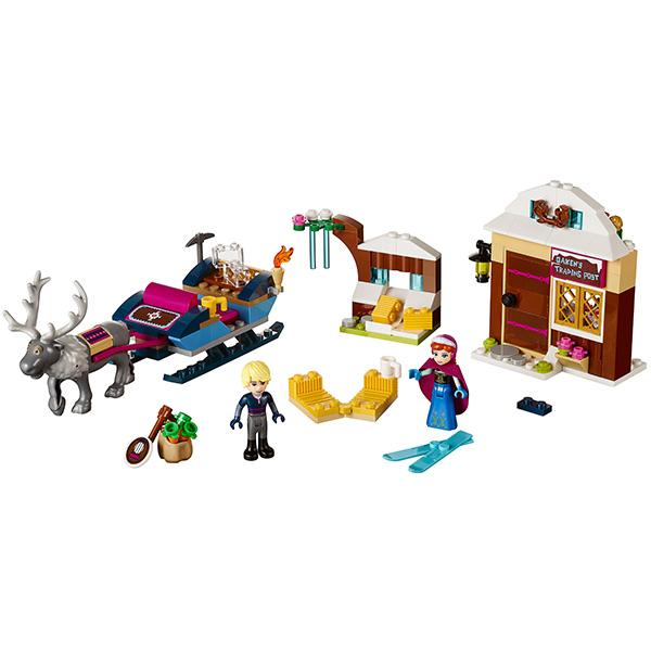 Lego Disney Princess 41066 Конструктор Лего Принцессы Дисней Анна и Кристоф: прогулка на санях
