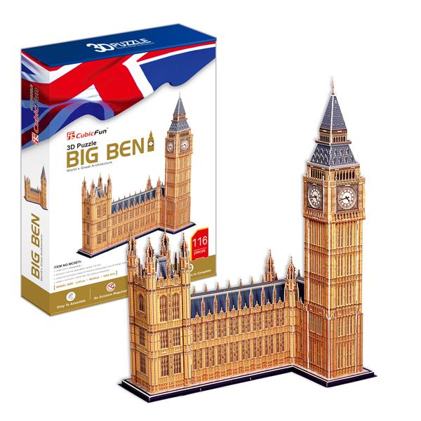 Cubic Fun MC087h Кубик фан Биг Бен (Великобритания) cubic fun mc117h кубик фан собор святого павла великобритания