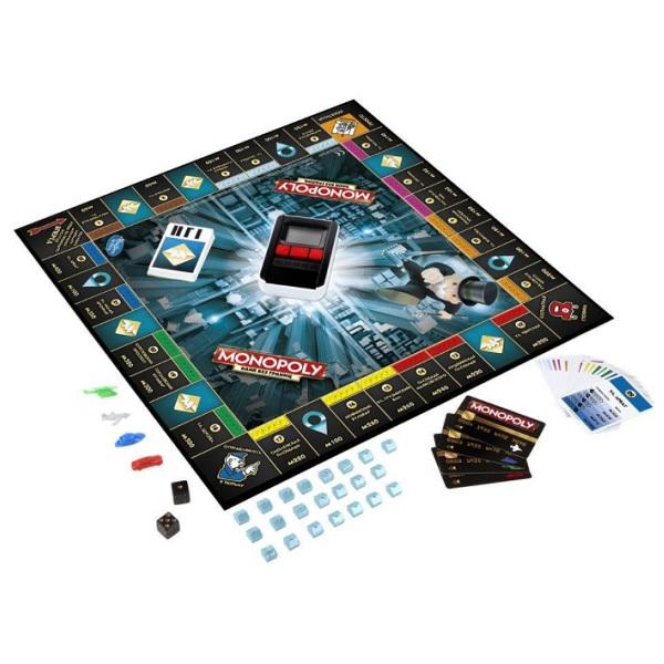 Hasbro Monopoly B6677 Монополия с банковскими картами (обновленная)