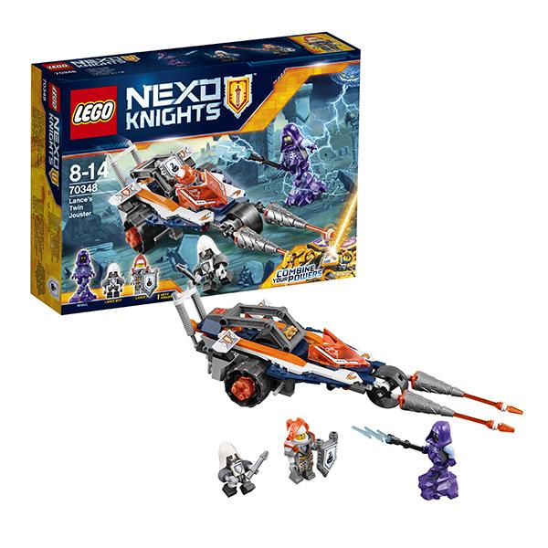 Lego Nexo Knights 70348 Конструктор Лего Нексо Турнирная машина Ланса