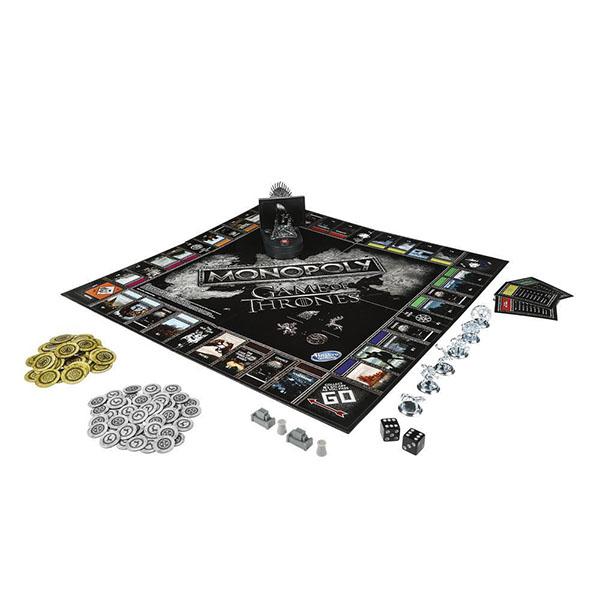 """Hasbro Monopoly E3278 Игра настольная Монополия """"ИГРА ПРЕСТОЛОВ"""""""