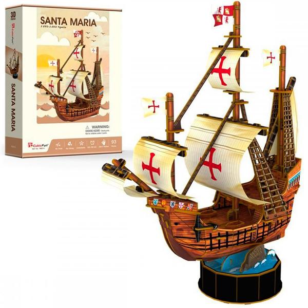 Cubic Fun T4031h Кубик фан Корабль Санта Мария cubic fun t4008h кубик фан корабль санта мария