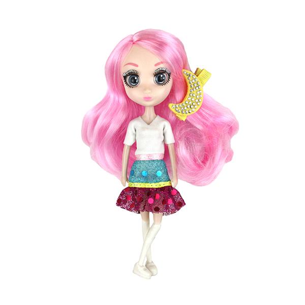 Shibajuku Girls HUN6676 Кукла Сури, 15 см shibajuku girls hun6675 кукла йоко 15 см