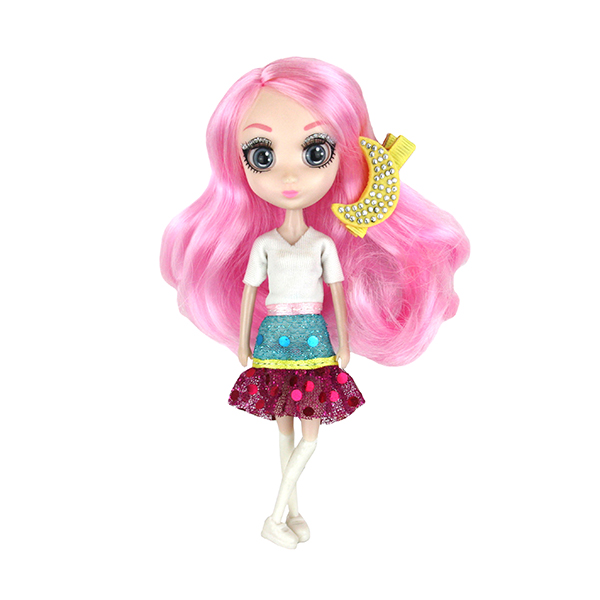 Shibajuku Girls HUN6676 Кукла Сури, 15 см