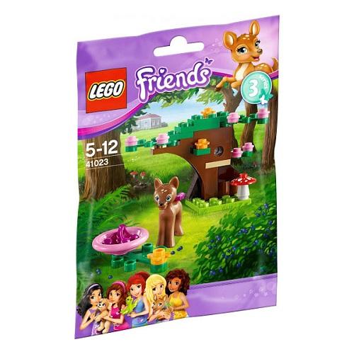 Лего Подружки 41023 Олененок в лесу