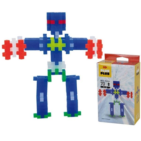 Plus Plus 3753 Разноцветный конструктор для создания 3D моделей(робот коричневый) все цены