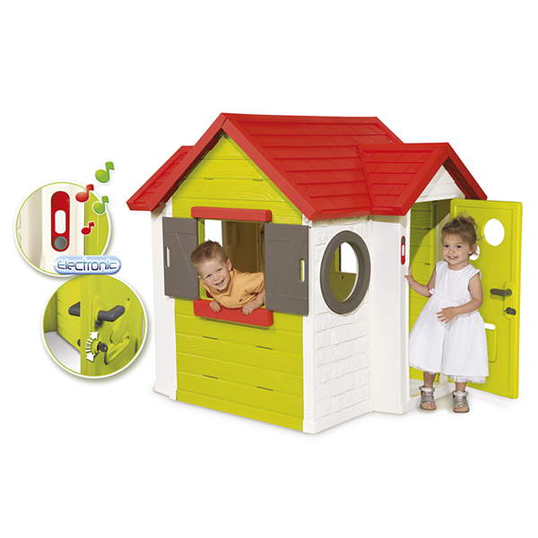 Smoby 810402 Игровой детский домик со звонком