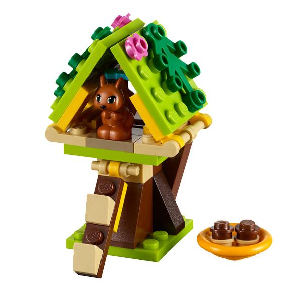 Лего Подружки 41017 Конструктор Домик Белки
