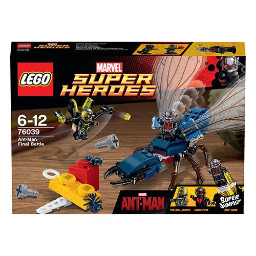 Lego Super Heroes 76039 Конструктор Лего Супер Герои Марвел Человек Муравей