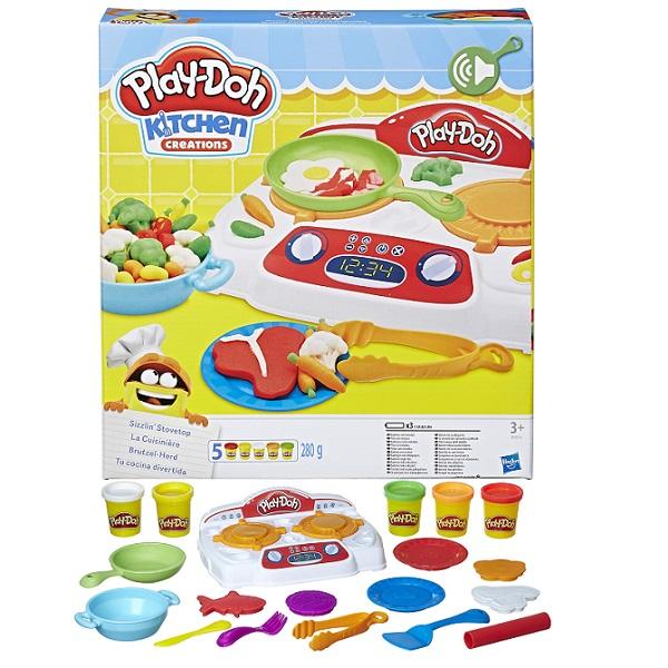 Hasbro Play-Doh B9014 Игровой набор Кухонная плита hasbro play doh игровой набор из 8 баночек с 2 лет