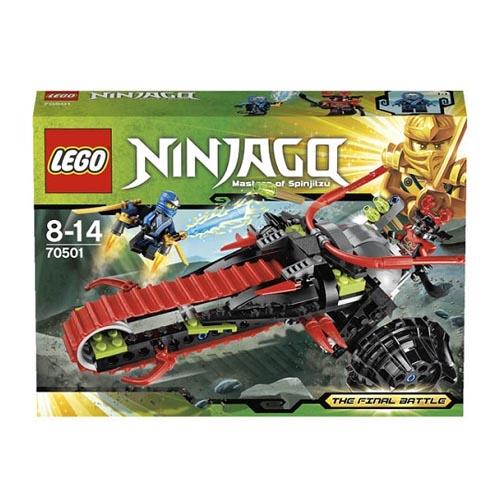 Lego Ninjago 70501 Конструктор Лего Ниндзяго Воин на мотоцикле