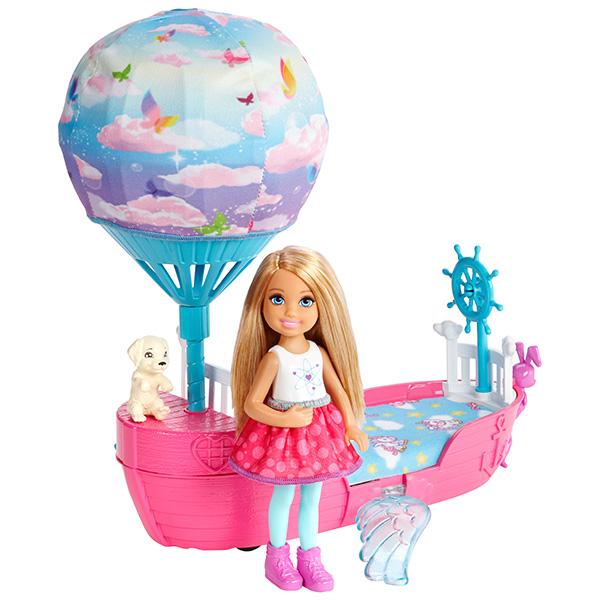 Mattel Barbie DWP59 Барби Волшебная кроватка Челси mattel кукла челси barbie