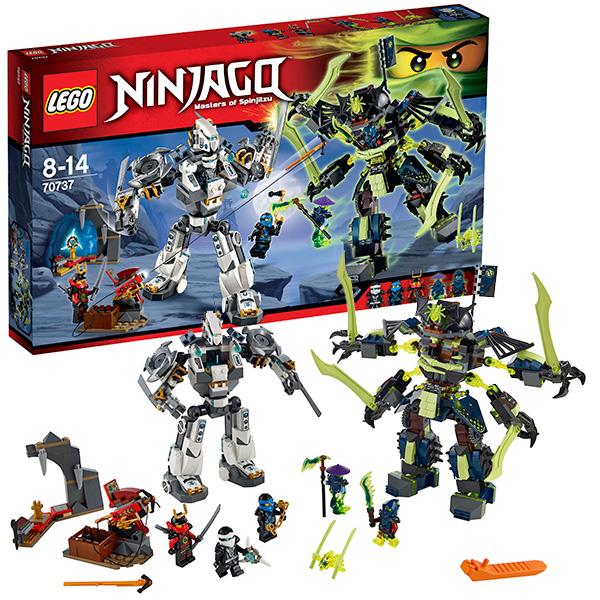 Lego Ninjago 70737 Конструктор Лего Ниндзяго Битва механических роботов