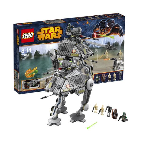 Lego Star Wars 75043 Конструктор Лего Звездные войны Шагающий танк AT-AP