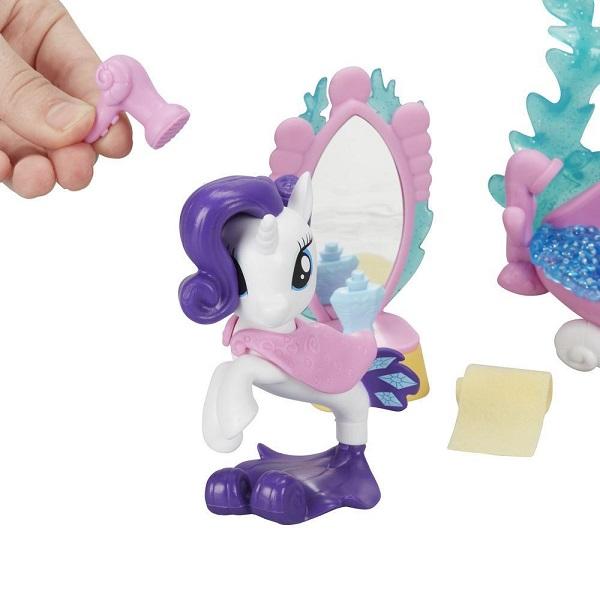 Hasbro My Little Pony C0682/C1829 Май Литл Пони Пони Мерцание с аксессуарами Рарити