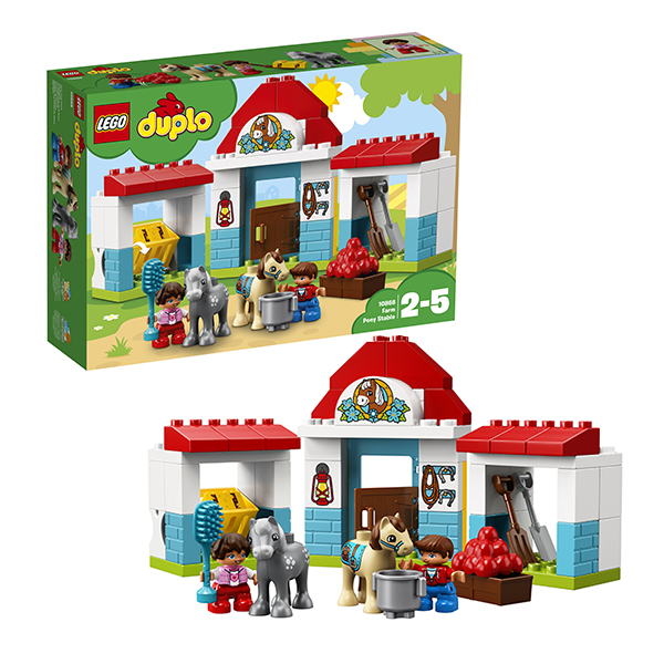 LEGO DUPLO 10868 Конструктор ЛЕГО ДУПЛО Конюшня на ферме цена 2017
