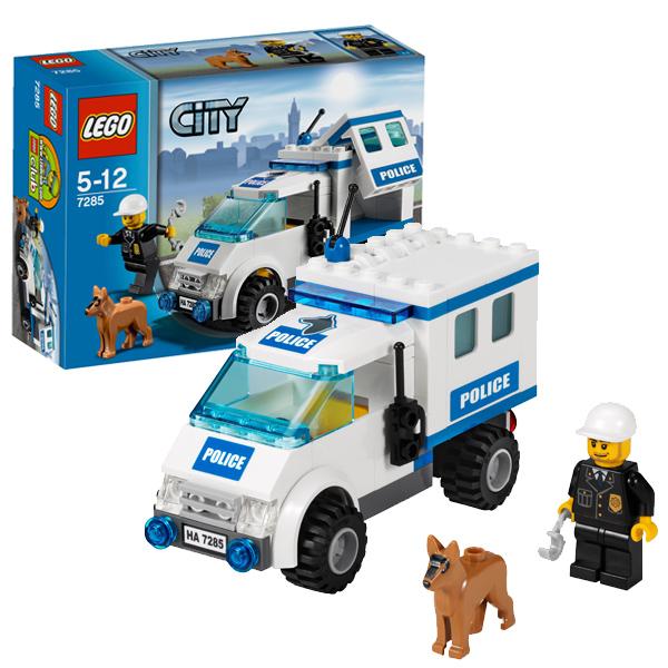 LEGO City 7285 Конструктор ЛЕГО Город Полицейский наряд и служебная собака