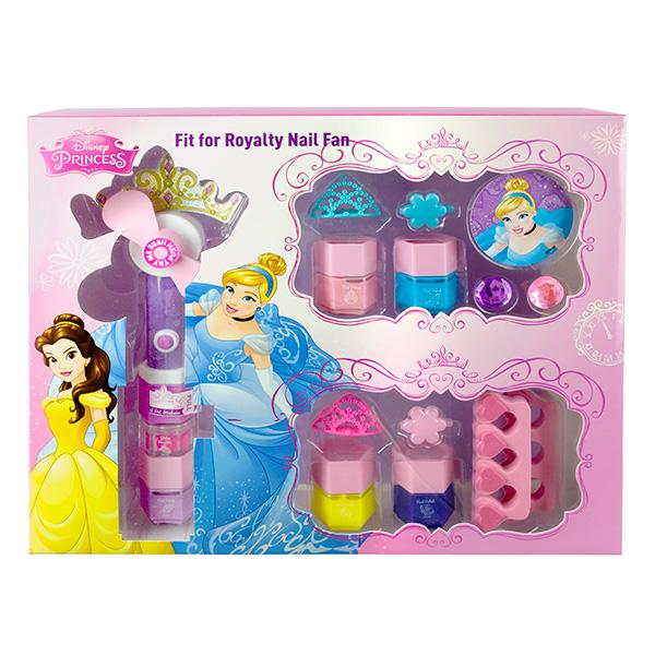 Markwins 9604151 Princess Набор детской декоративной косметики с феном для сушки лака