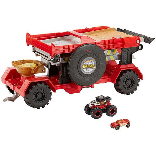 "цена на Mattel Hot Wheels GFR15 Хот Вилс Игровой набор Монстр трак ""Передвижной трамплин"""