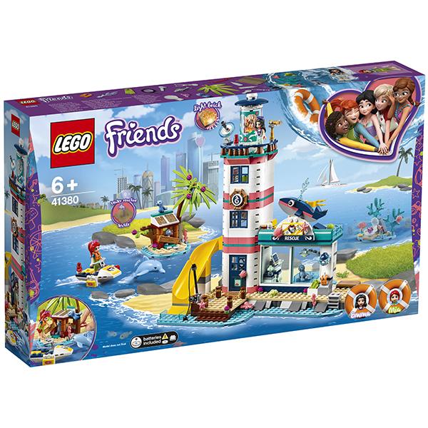 LEGO Friends 41380 Конструктор ЛЕГО Подружки Спасательный центр на маяке