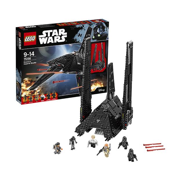 Lego Star Wars 75156 Лего Звездные Войны Имперский шаттл Кренника lego 10188 звезда смерти