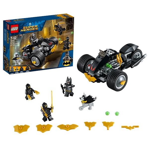 Lego Super Heroes 76110 Конструктор Лего Супер Герои Бетмен: Нападение Когтей lego super heroes 76085 конструктор лего супер герои битва за атлантиду