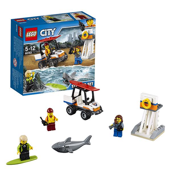 Lego City 60163 Лего Город Набор для начинающих Береговая охрана lego lego city 60106 набор для начинающих пожарная охрана
