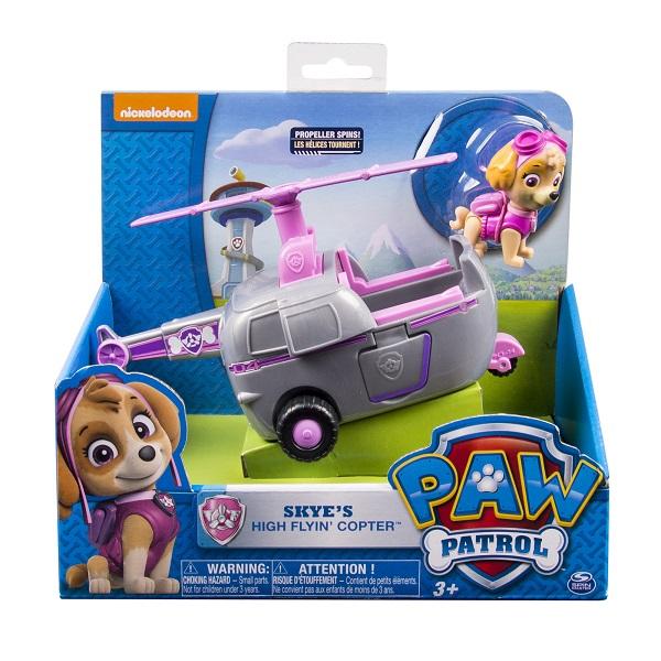 Paw Patrol 16601-Sky Щенячий патруль Машинка спасателя и щенок (Скай)