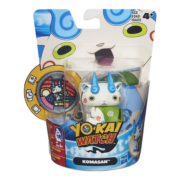 Hasbro Yokai Watch B5937 Йо-кай Вотч: Фигурка с медалью (в ассортименте)