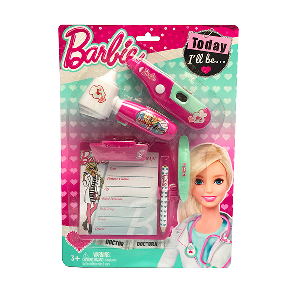 Corpa D121B Игровой набор юного доктора Barbie на блистере