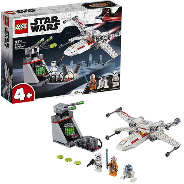 Lego Star Wars 75235 Конструктор Лего Звездные Войны Звёздный истребитель типа Х lego lego star wars microfighters 75160 микроистребитель типа u