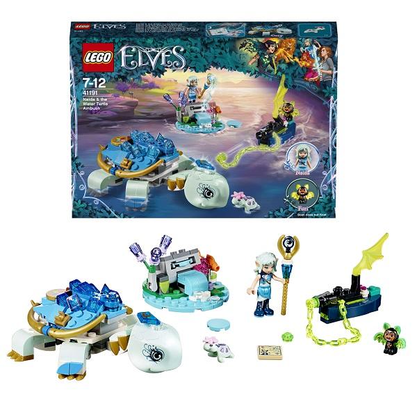 Lego Elves 41191 Лего Эльфы Засада Наиды и водяной черепахи lego 8 lego elves 41077 лего эльфы летающие сани эйры