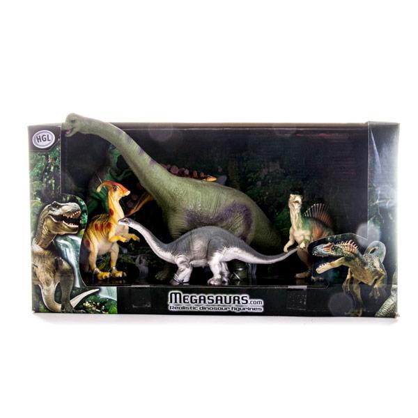 Megasaurs SV10557 Мегазавры Игровой набор динозавров (6 штук), 2 (в ассортименте)