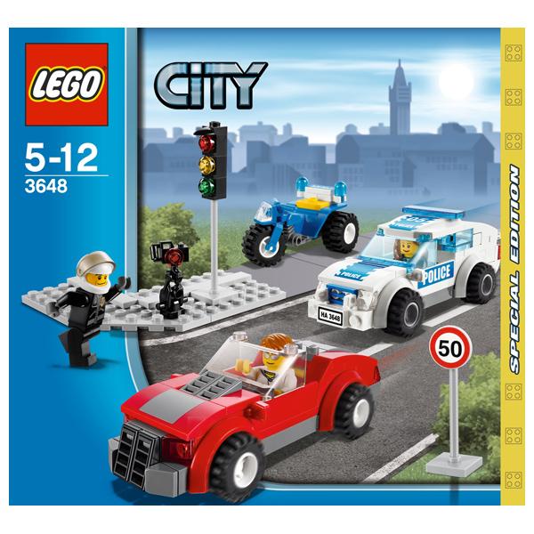 LEGO City 3648 Конструктор ЛЕГО Город Полицейская погоня